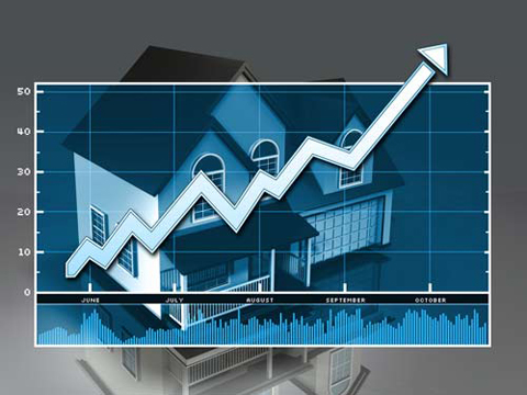 Home prices rose slightly last month