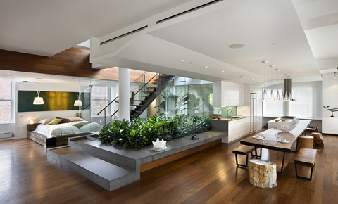Home Buyers like open floor plans, open-plan kitchens and other modern designs