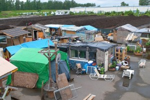 Camp Dignity in Portland