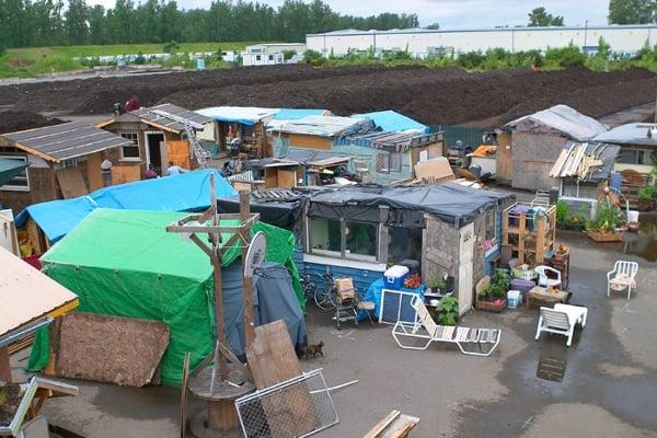 Camp Dignity in Portland