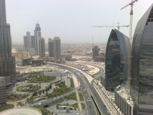 Abu Dhabi construction boom