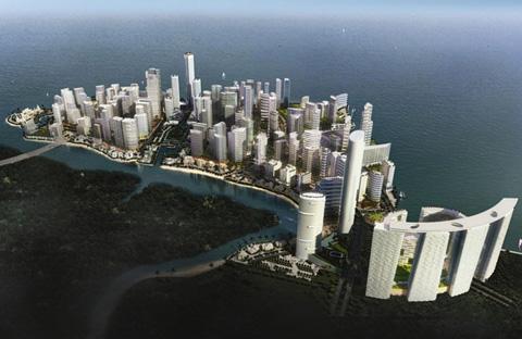 Abu Dhabi's Al Reem Island development