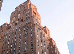Barbizon Hotel in New York