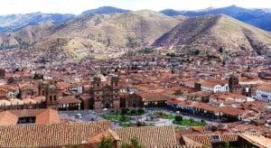 Cuzco, the former Inca capital