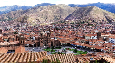 Cuzco, the former Inca capital