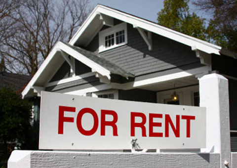 rent out foreclosed homes