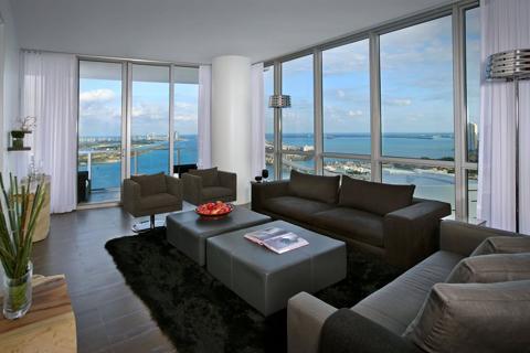 luxury condominium units at Marquis Residences