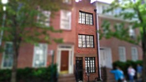 New York's skinniest home