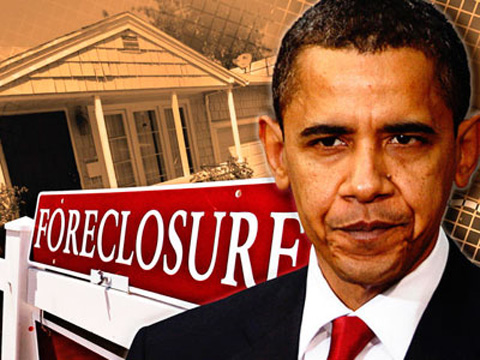 Obama announces new initiative to help unemployed homeowners stave off foreclosure