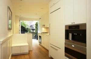 Skinniest house kitchen