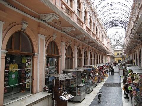 Pedestrian shopping zone just off the Plaza de Armas