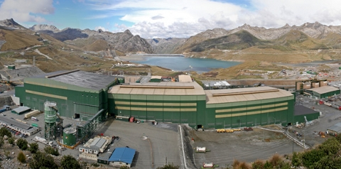 A Cosapi facility in Peru
