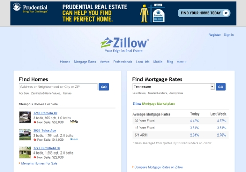 Zillow looks like a really ugly Google