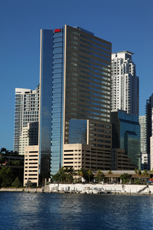 Miami's Brickell Bay Office building