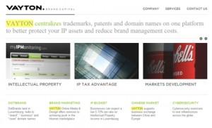 Vayton Brand Capital website