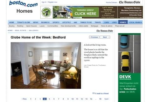 Boston dot com real estate