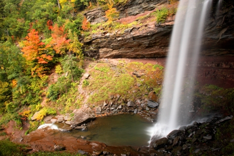 Catskills waterfall