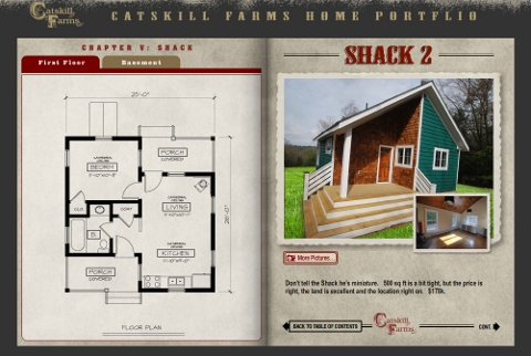Interactive on the Shack series of homes