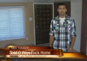 Soldier buys back parent's home