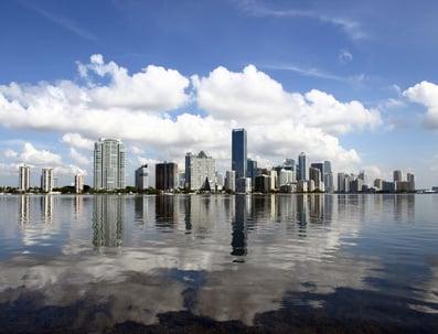 迈阿密的1450 Brickell办公大楼赢得了梦vet以求的绿色奖