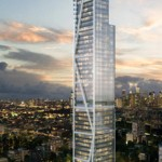 Artist's rendition of the Trump Tower Manila