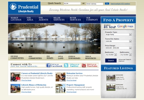 Prudential Lifestyle Realty. Asheville