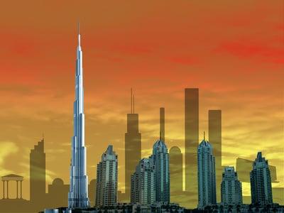 穆迪对迪拜房地产市场复苏的悲观看法