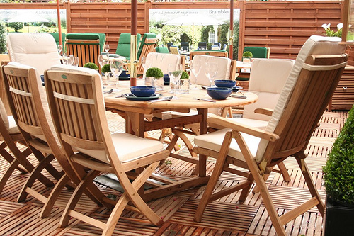 Wood decking for home