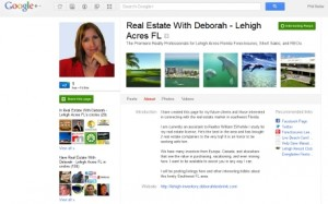 G+ real estate pages.