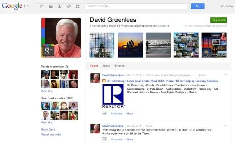 David Greenlees' G+ presence, awesome.