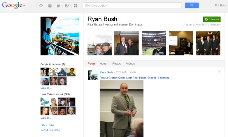 Ryan Bush rocking the web with real estate know how.