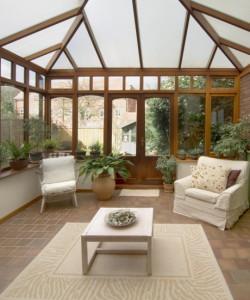 Conservatory courtesy © david hughes - Fotolia.com