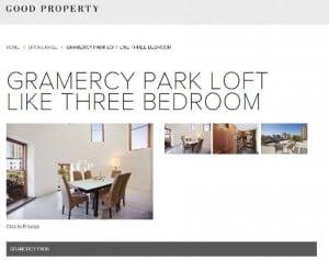 Good Property Gramercy listing