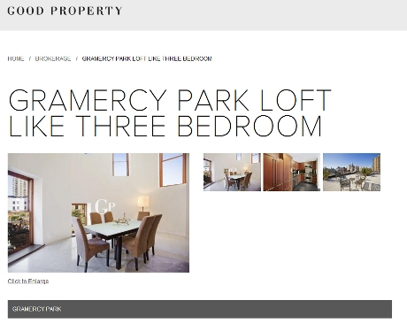 Good Property Gramercy listing