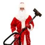 Santa cleaning