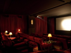 Soho House screening room in Berlin
