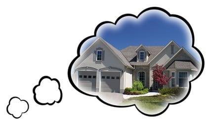 房客仍梦想着拥有房屋 这是真实的