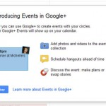 Google Launch 'Google+ Events'