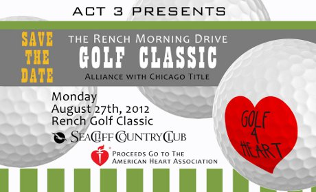 Heart Association golf tourney.