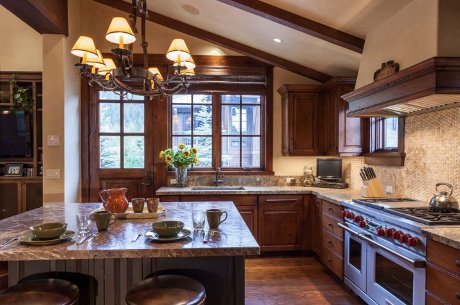 Sun Valley kitchen