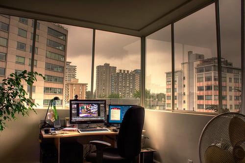在最小的空间中创建功能性工作站