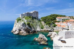 Festung Lovrijenac, Dubrovnik, Kroatien