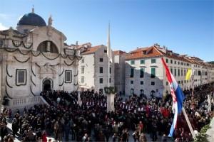 Feast of St. Blasius courtesy Croatia.hr