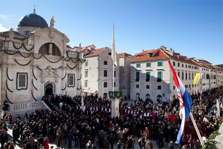 Feast of St. Blasius courtesy Croatia.hr