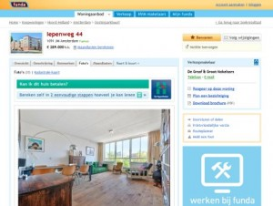 Dutch real estate portal Funda