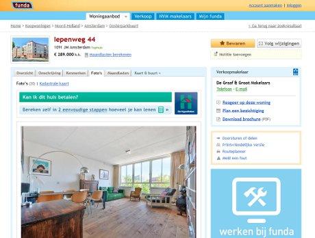 Dutch real estate portal Funda