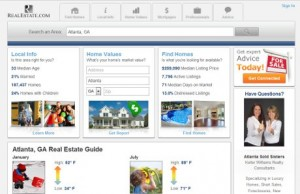 RealEstate.com Atlanta site