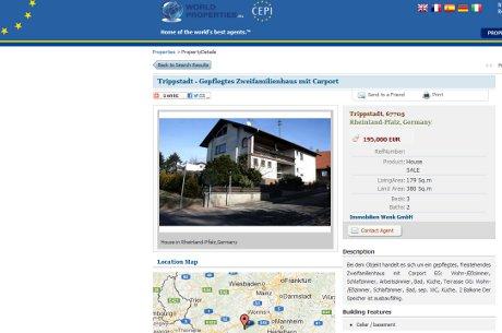 World Properties listing