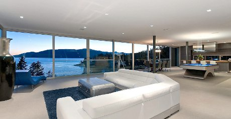 Eagle Harbor property shown in Hollywood style