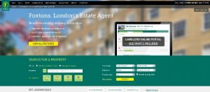 Foxtons landing page